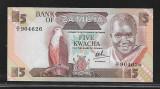 Zambia 5 Kwacha  1988 -UNC