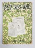 GAZETA TRANSILVANIEI . NUMAR JUBILIAR 1838-1908