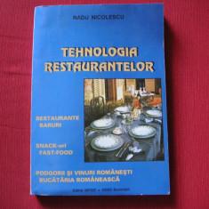 Tehnologia restaurantelor - Radu Nicolescu