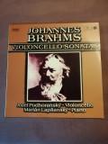 Brahms Violoncello Sonatas Jozef Podhoransky/Marian Lapsansky vinil vinyl