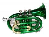 Trompeta de buzunar Cherrystone Verde
