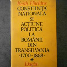 CONSTIINTA NATIONALA SI ACTIUNEA POLITICA LA ROMANII DIN TRANSILVANIA 1700-1868