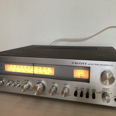Amplituner Scott R-316 Receiver FM/AM Tuner Amplificator Statie Radio