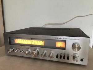 Amplituner Scott R-316 Receiver FM/AM Tuner Amplificator Statie Radio