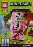 Cumpara ieftin Mini Figurina, de Tip Lego, Minecraft, HUNTER