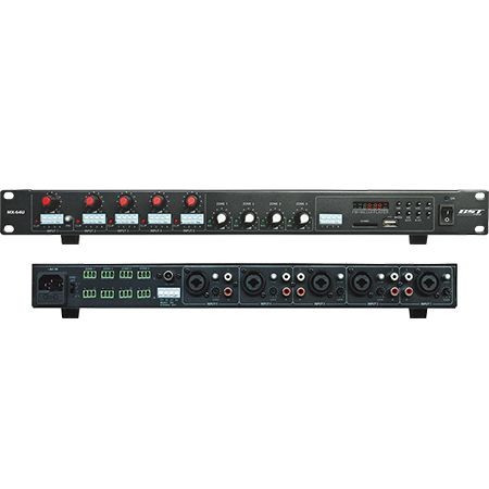 MIXER 5 CANALE CU CD PLAYER/USB/SD/TUNER