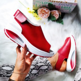 Sandale Piele Erilia rosii cu talpa ortopedica -rl