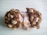 Fire tricotat / crosetat GNOCCHI maro