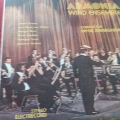 DISC VINIL  ARMONIA WIND ENSEMBLE