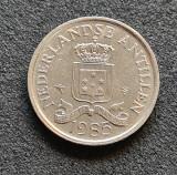 Antilele Olandeze 25 cent centi 1985, America Centrala si de Sud