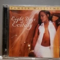 Pamela Williams - Eight Days... (1998/Warner/GERMANY) - ORIGINAL/ stare: Nou