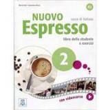 Nuovo Espresso 2 (libro + DVD)/Expres nou 2 (carte + DVD). Curs de italiana A2. Carte si exercitii pentru elevi - Maria Balì, Giovanna Rizzo