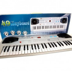 Orga electronica 49 clape si microfon inclus SD4902