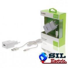 Incarcator de la retea, iesire USB 2.1 A alb, Sweex