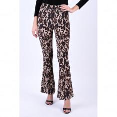 Pantaloni Evazati Noisy May Ole Flared Leopard