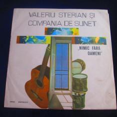 Valeriu Sterian si Compania de sunet - Nimic fara oameni_vinyl,LP _ Electrecord