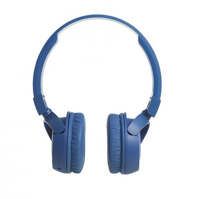 Casti wireless JBL T450BT, albastru, resigilat