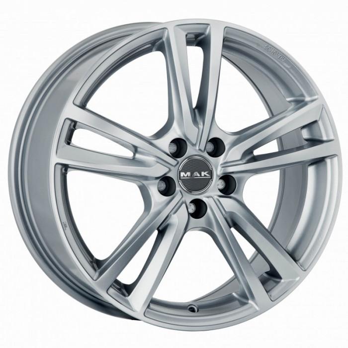 Jante SKODA SUPERB 8J x 18 Inch 5X112 et42 - Mak Icona Silver - pret / buc
