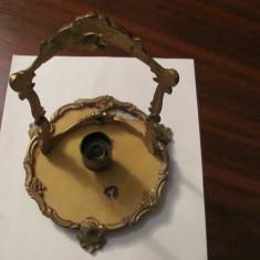 GE - Veioza veche din bronz neechipata