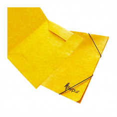 Mapa din carton cu elastic Forpus 21503 galbena
