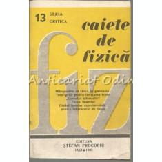 Caiete De Fizica - Seria: Critica - Nr.: 13