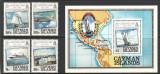 CAYMAN ISLANDS 1984 CORABII VAPOARE