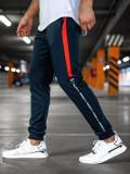 Cumpara ieftin Pantaloni de trening bărbați bleumarin Bolf AM125