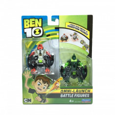 Set 2 figurine de lupta Ben 10 - 4 Brate si Wildvine