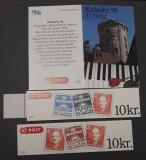 Lot de trei carnete cu timbre Danemarca -  MNH - 1996...
