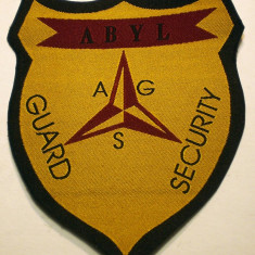 5.519 ROMANIA ECUSON AGS ABYL GUARD SECURITY 97/83mm