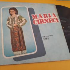 VINIL MARIA CARNECI-CANTECE DE VOIE BUNA EPE 02790 DISCUL STARE FOARTE BUNA