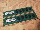 Kit memorii PC 4Gb(2 x 2Gb) DDR3 Transcend 1333Mhz Dual Channel, DDR 3, 4 GB