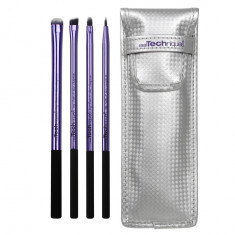 Set 4 pensule machiaj Real Techniques Beautiful Eyes