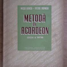 Metoda de acordeon  / Misu Iancu, Petre Romea