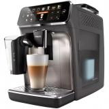 Espressor automat Philips Seria 5400 EP5444/90, sistem de lapte LatteGo, 12 bauturi, display digital TFT si pictograme color, filtru AquaClean, rasnit