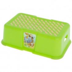 Inaltator pentru toaleta si chiuveta Tega Baby Safari 440030V, Verde