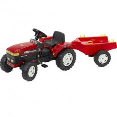 Tractor Farm Fiat Rosu