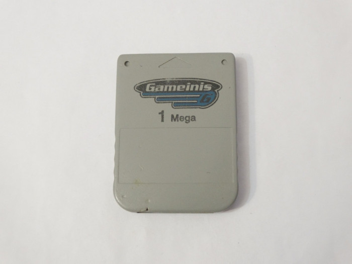 Card memorie Sony Playstation 1 PS1 Ps One 1 Mb