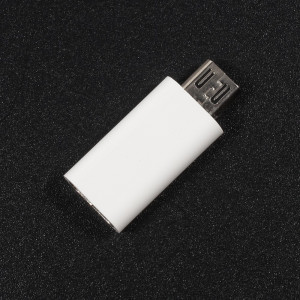 Adaptor Type-C to Micro-USB 2,6 cm Flippy, Alb