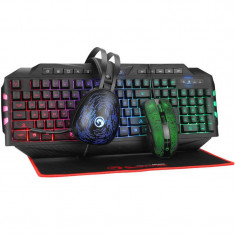 Kit tastatura si mouse Marvo Advanced Gaming Kit 4 in 1 CM550