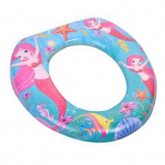 Reductor toaleta pentru copii, 28 x 28 cm, imprimeu sirena