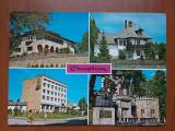 Campina - imaginii multiple - carte postala circulata 1975, Fotografie