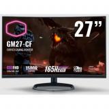 Monitor gaming curbat Cooler Master GM27-CF, 27 Inch, FullHD, Pana la 200 Hz