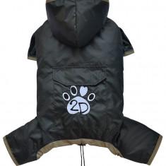 Pelerina ploaie cu gluga - negru - Doggydolly - BD453 (Marime: XL)