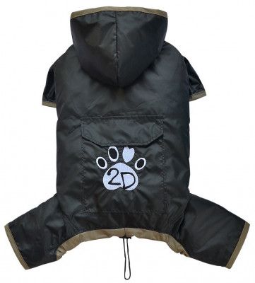 Pelerina ploaie cu gluga - negru - Doggydolly - BD453 (Marime: S) foto
