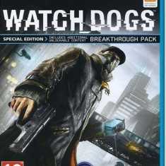 Joc consola Ubisoft Watch Dogs D1 Edition - WII U