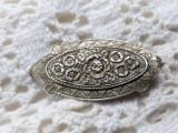 BROSA argint SPLENDIDA art nouveau FRANTA 1900 manopera EXCEPTIONALA de efect