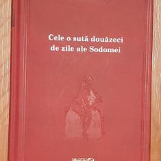 Cele o suta douazeci de zile ale Sodomei Marchizul de Sade Adevarul
