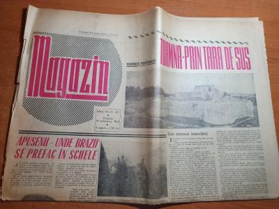 magazin 19 octombrie 1963- muntii apuseni,satul salciua,articol orasul suceava foto