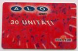 ROMANIA CARTELA ALO GSM 30 UNITATI CS DE LA RUE - PENTRU COLECTIONARI **